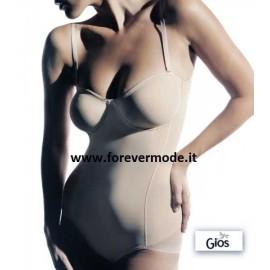 Body donna Gios Shape con ferretto e non imbottito a fascia