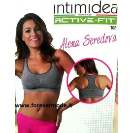 Top sportivo donna Imtimidea Sportswear spalla larga Active Fit