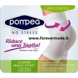 Guaina donna Pompea modellante e contenitiva vita alta con gamba