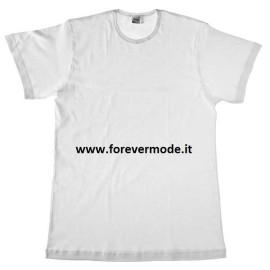 3 T-shirt uomo Map o Moretta manica corta a girocollo in cotone EXTRE LARGE