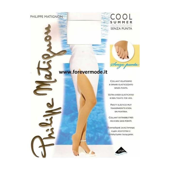 2019 professionista una grande varietà di modelli catturare Collant donna Matignon estivo, Cool Summer senza punta del piede