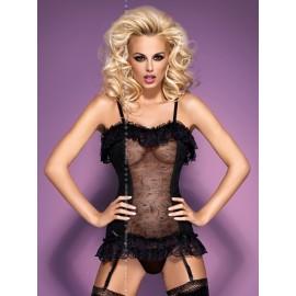 Sexy lingerie donna Obsessive Ditta corsetto extra sensuale