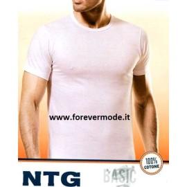 3 T-shirt uomo Nottingham manica corta girocollo in puro cotone