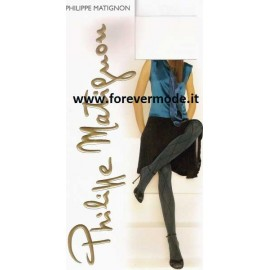 Collant donna Matignon Regime fantasia coprente con rombi righe