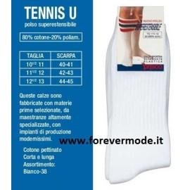 6 Calze uomo Prisco corte in cotone pettinato comfort sportivo