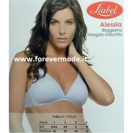 Reggiseno donna Liabel in microfibra con imbottitura push up