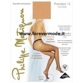 Collant donna Matignon Premiere 15 vita bassa anatomico