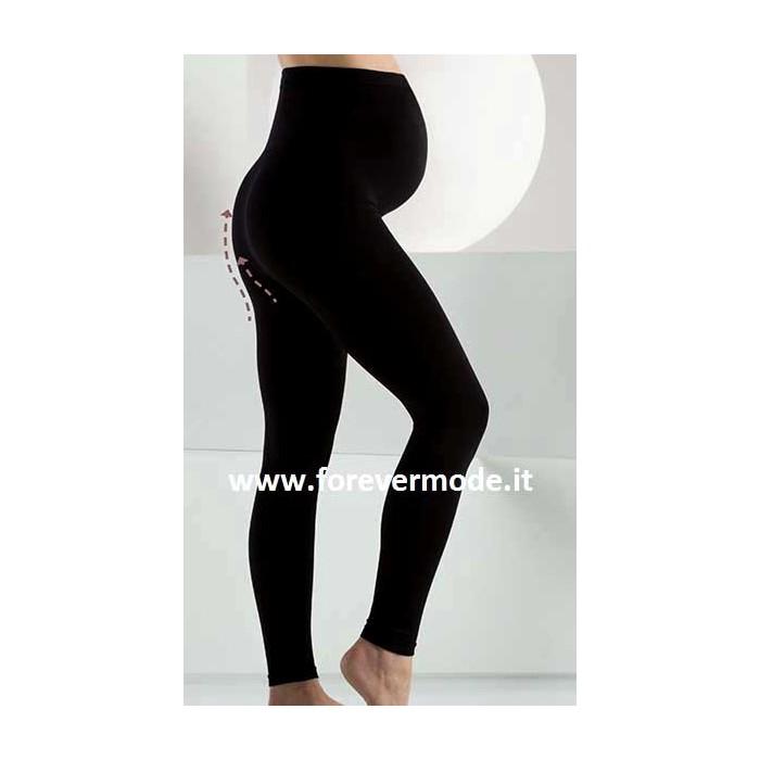 Leggings donna Bellissima Maternity con supporto pancia e cinturino