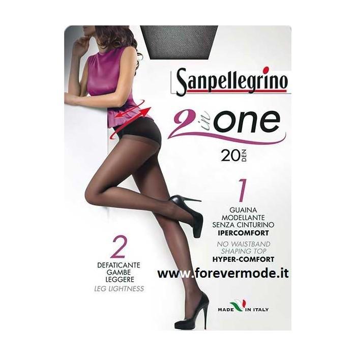 2 Collant donna Sanpellegrino 20den con guaina modellante