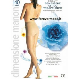 Collant donna Manon 140 ideale per varici e gonfiori, mmhg 18-22