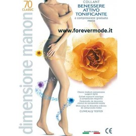 Collant donna Manon 70 ideale per varici e gonfiori, mmhg 13-17