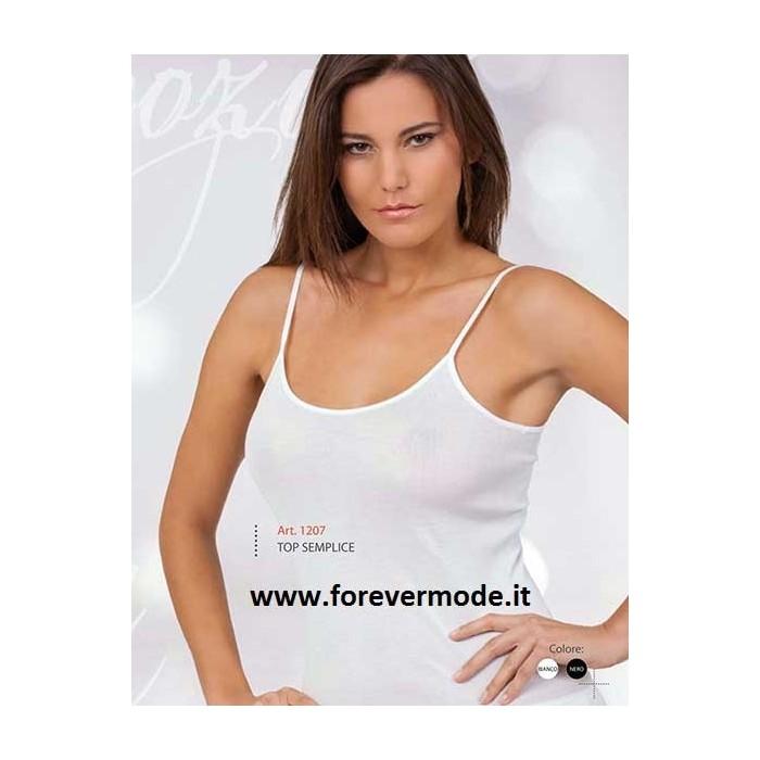 Offerta 3 Canotte Donna 100%cotone Filo Di Scozia Spallina Stretta Made In Italy Clothing, Shoes & Accessories