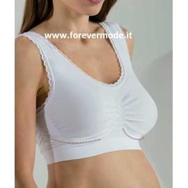 Top donna Bellissima Maternity supporto per il seno spalla larga