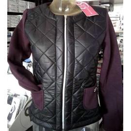Giacchino donna Baci & Abbracci con lana interna, tasche e logo