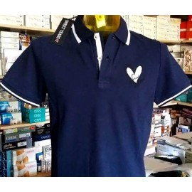 Polo uomo Sweet Years manica corta con logo e stampa sul collo