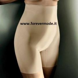 Guaina donna Gios in microfibra snellente a vita alta anti segno con gamba