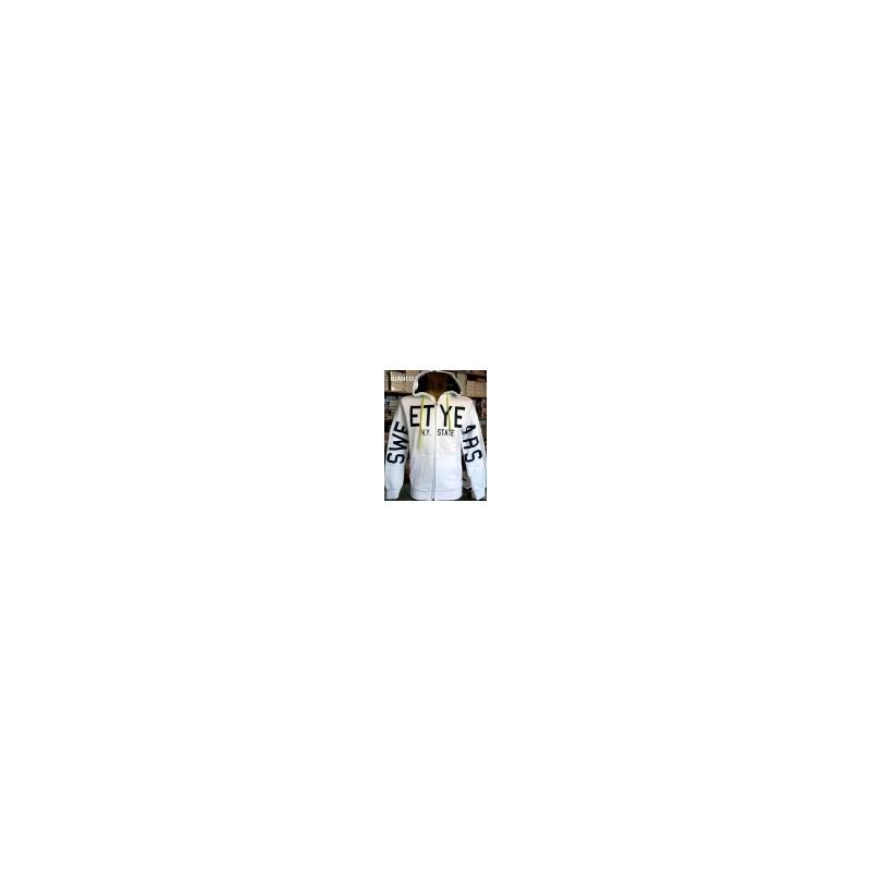 Felpa uomo Sweet Years con logo sulle maniche con tasche e cappuccio art SYU3252