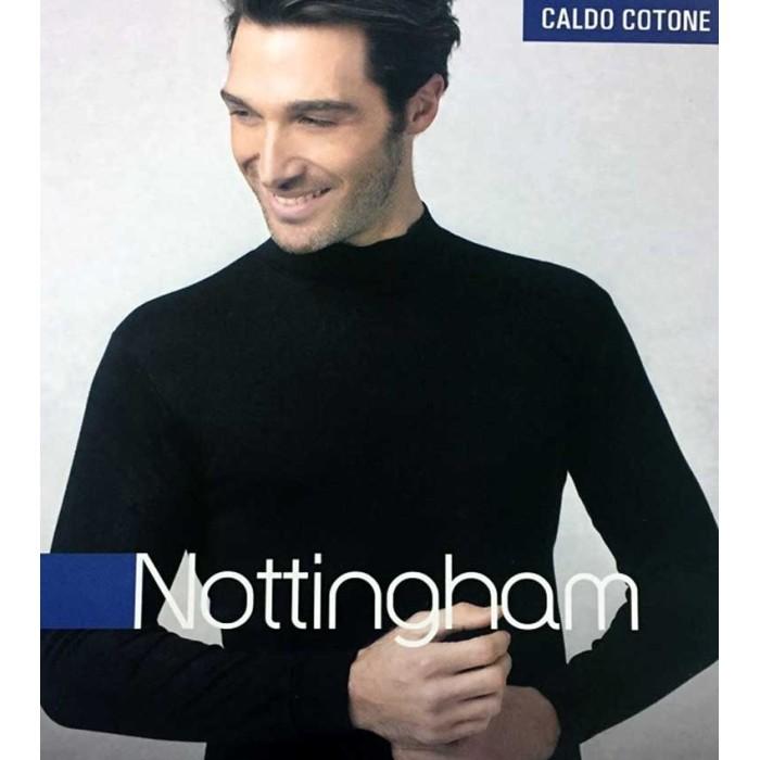 Maglia uomo Nottingham manica lunga con collo lupetto in caldo cotone