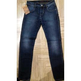 Jeans uomo Baci & Abbracci in cotone elasticizzato con sbiaditure