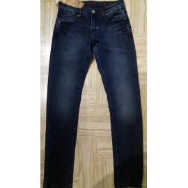Jeans uomo Baci & Abbracci in cotone elasticizzato poco sbiadito
