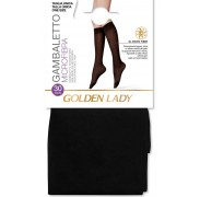 Gambaletto donna Golden Lady Micro 30 in microfibra con bordo comfort