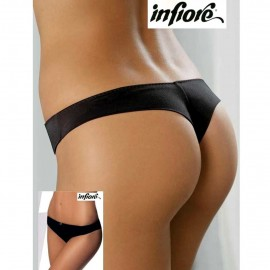Slip brasiliana donna Infiore in microfibra liscia senza cuciture dietro