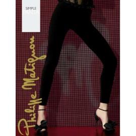 Pantacollant donna Matignon liscia in leggera microfibra e cotone