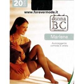 10 Paia Autoreggenti Donna BC in filanca 20 den velate