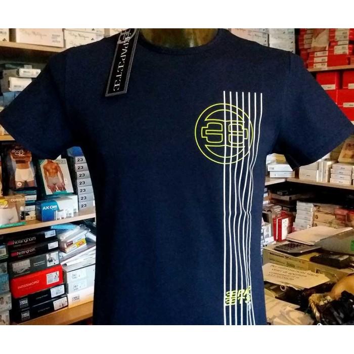 T-shirt uomo Papeete manica corta girocollo con stampa logo laterale