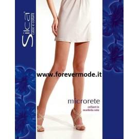 3 Collant donna Silca in morbida Micro rete elasticizzata